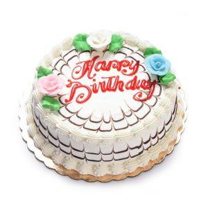 """8"""" Round Greeting Cake"""