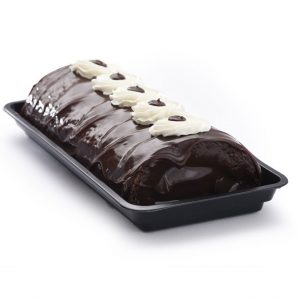 Chocolate Iced Roll